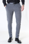 Solid Dave Barro Pants Dark Grey Mel