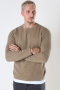 ONLY & SONS ONSPANTER LIFE 12 STRUC CREW KNIT NOOS Chinchilla