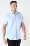 Selected SLHSLIMNEW-LINEN SHIRT SS CLASSIC W Skyway